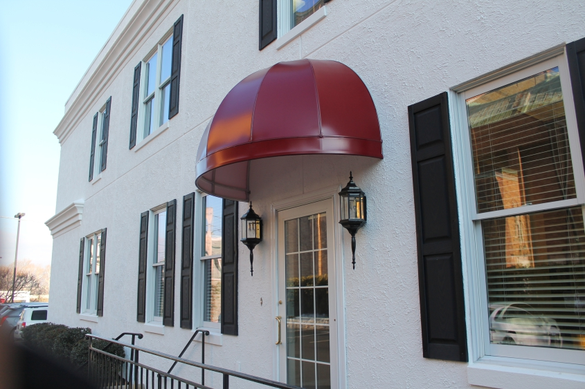 Round Commercial Awning