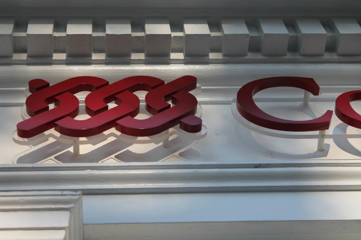 Stud Mounted Acrylic Flat Dimensional Letters