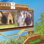 Newtown Square – Animated Interactive Design