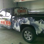 Truck Vehicle Wrap